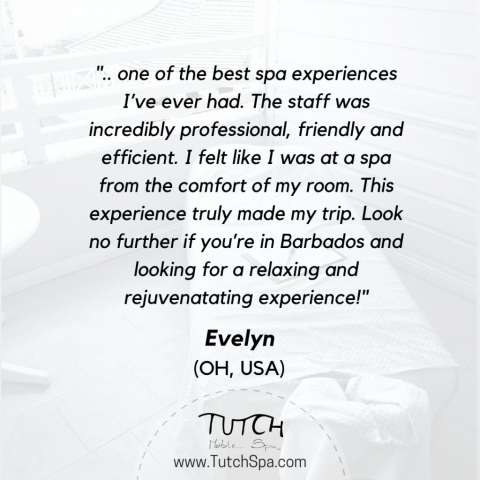 Evelyn's review of our massage services